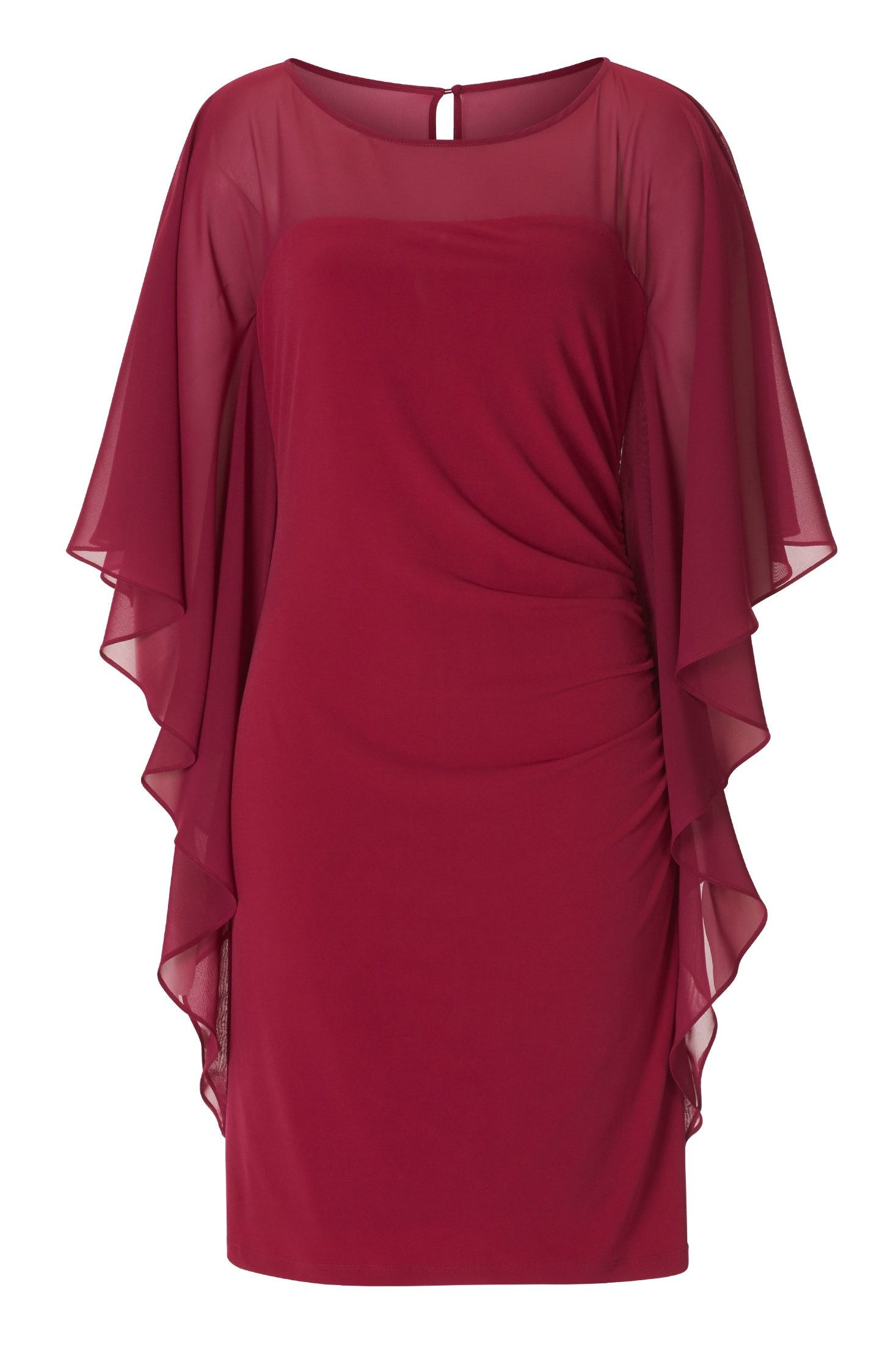 Brautmutter Kleider wie dieses rote Fledermauskleid für ...