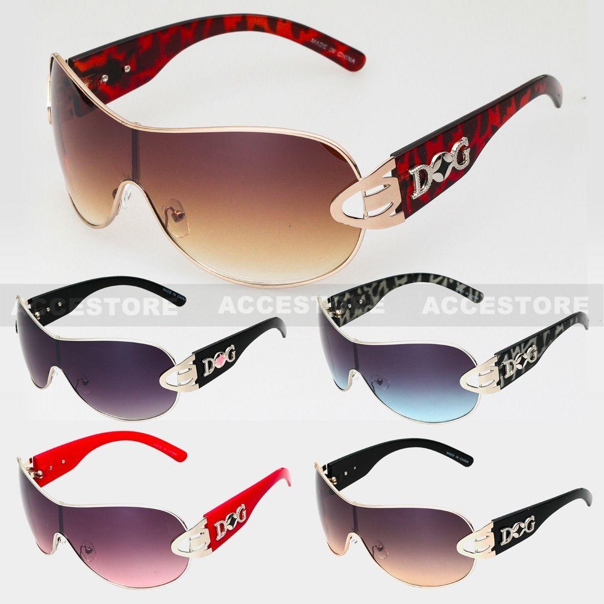 DG Eyewear Celebrity Inspired Vintage Womens Sunglasses