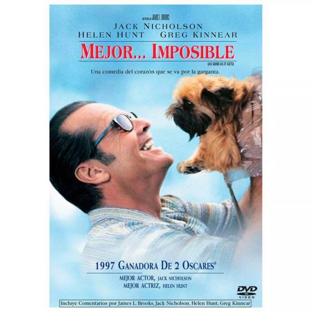 Dvd Mejor Imposible Nuevo 100 Mejor Imposible Titulo Original As Good As It Gets Ano 1997 Duracion 138 Min Greg Kinnear Helen Hunt Peliculas Cine