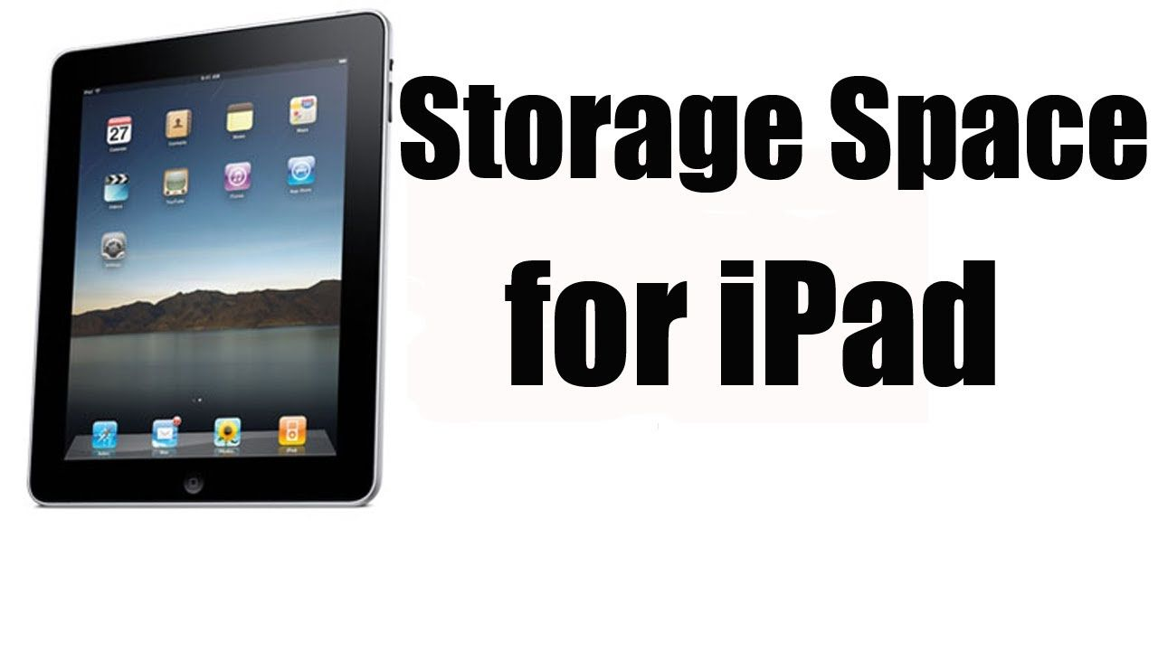 How to check your storage space on your ipad ipad