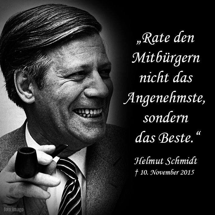 Zitate Helmut Schmidt