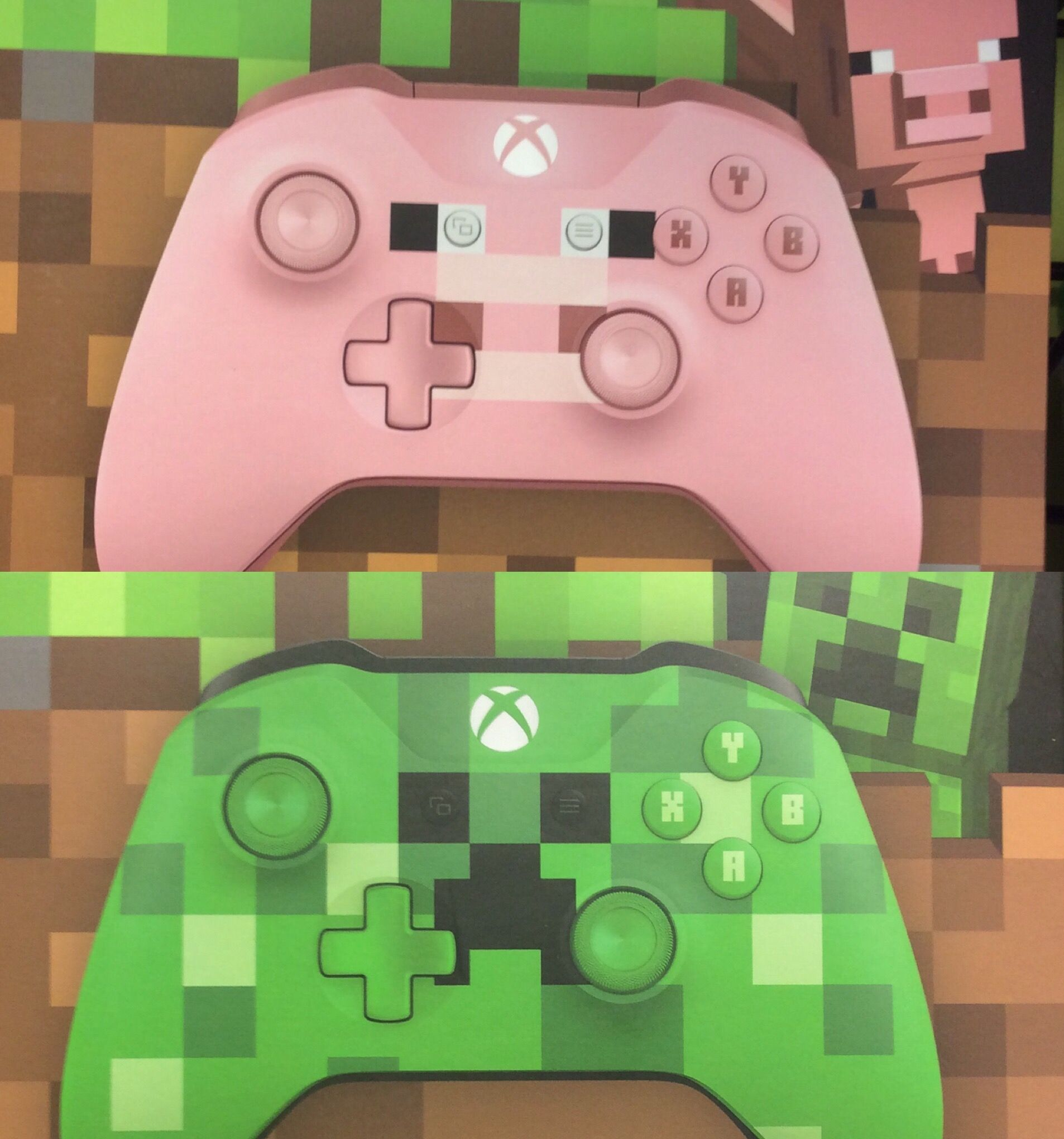 We Have The Minecraft Pig And Creeper Controller Here At Gamers