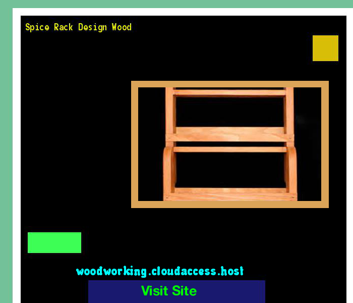 Spice Rack Design Wood 204052 - Woodworking Plans and Projects!