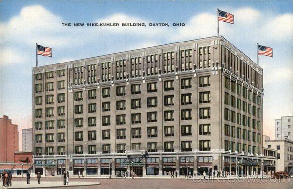 Rike Kumler Company Building Building Dayton Dayton Ohio