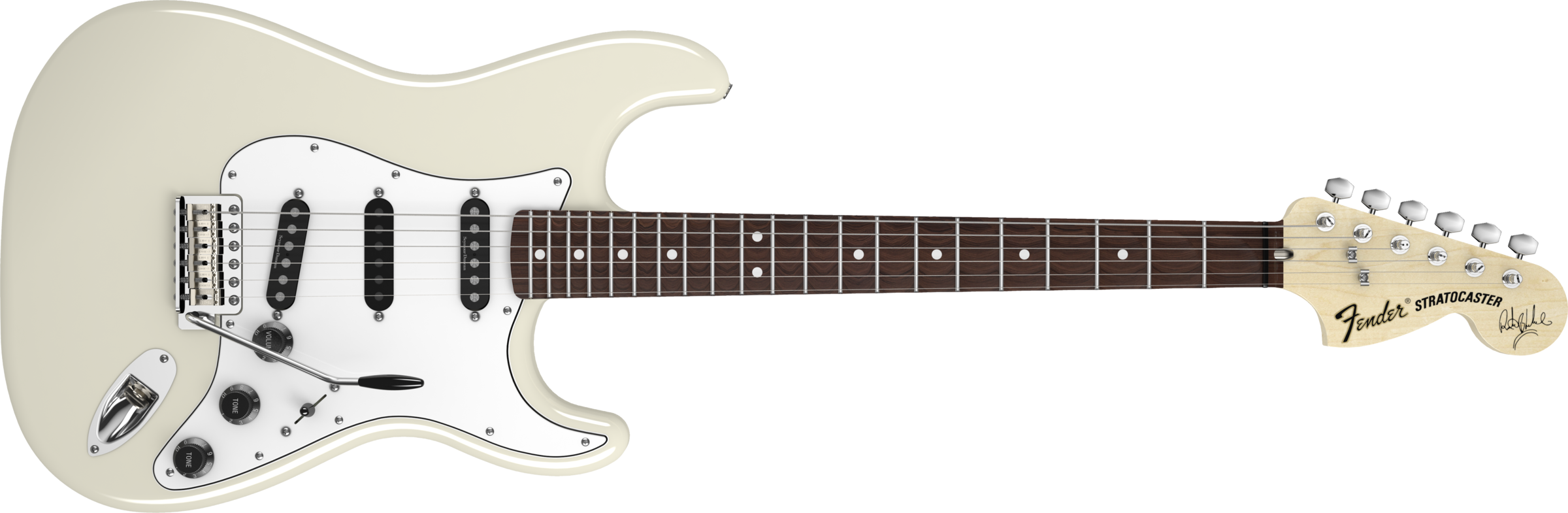 Ritchie Blackmore Stratocaster Scalloped Rosewood Fingerboard Olympic White Guitar Acoustic Bass Guitar Electric Guitar