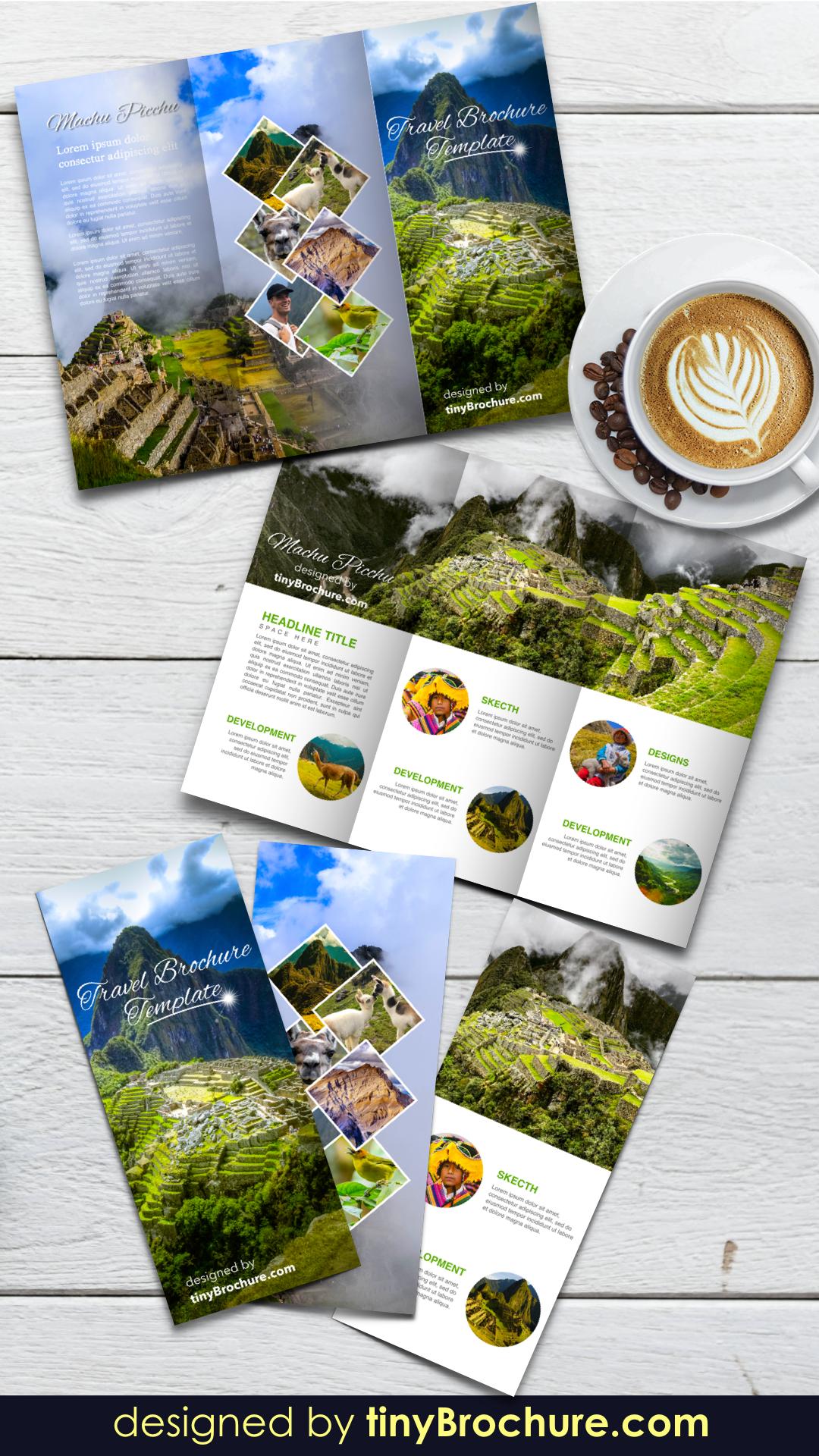 Google Docs Travel Brochure Template In 2020 Graphisches Design Magazin Design Unternehmungen