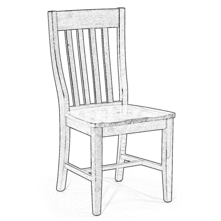 55. Sedia da verniciare in legno di faggio. | Raw wood chairs ...