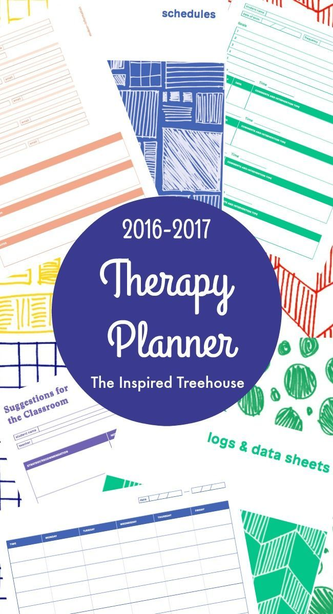 Printable Planner for Therapists Calendar notes, Schedule calendar
