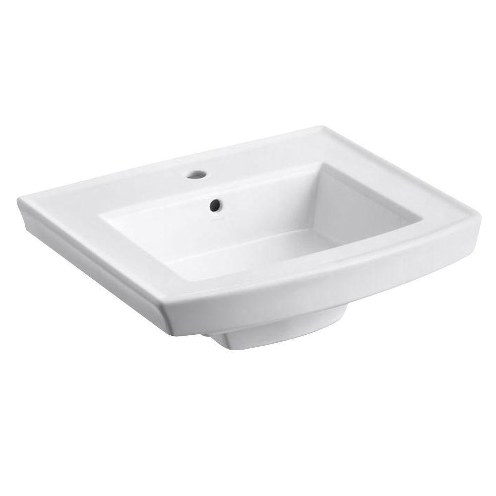 Kohler k archer lav basin hole camping wash basins