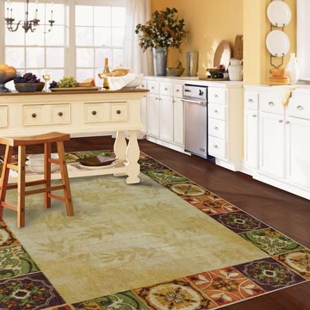 mohawk kitchen rugs little helper stool home oliva panels rug multi color dining