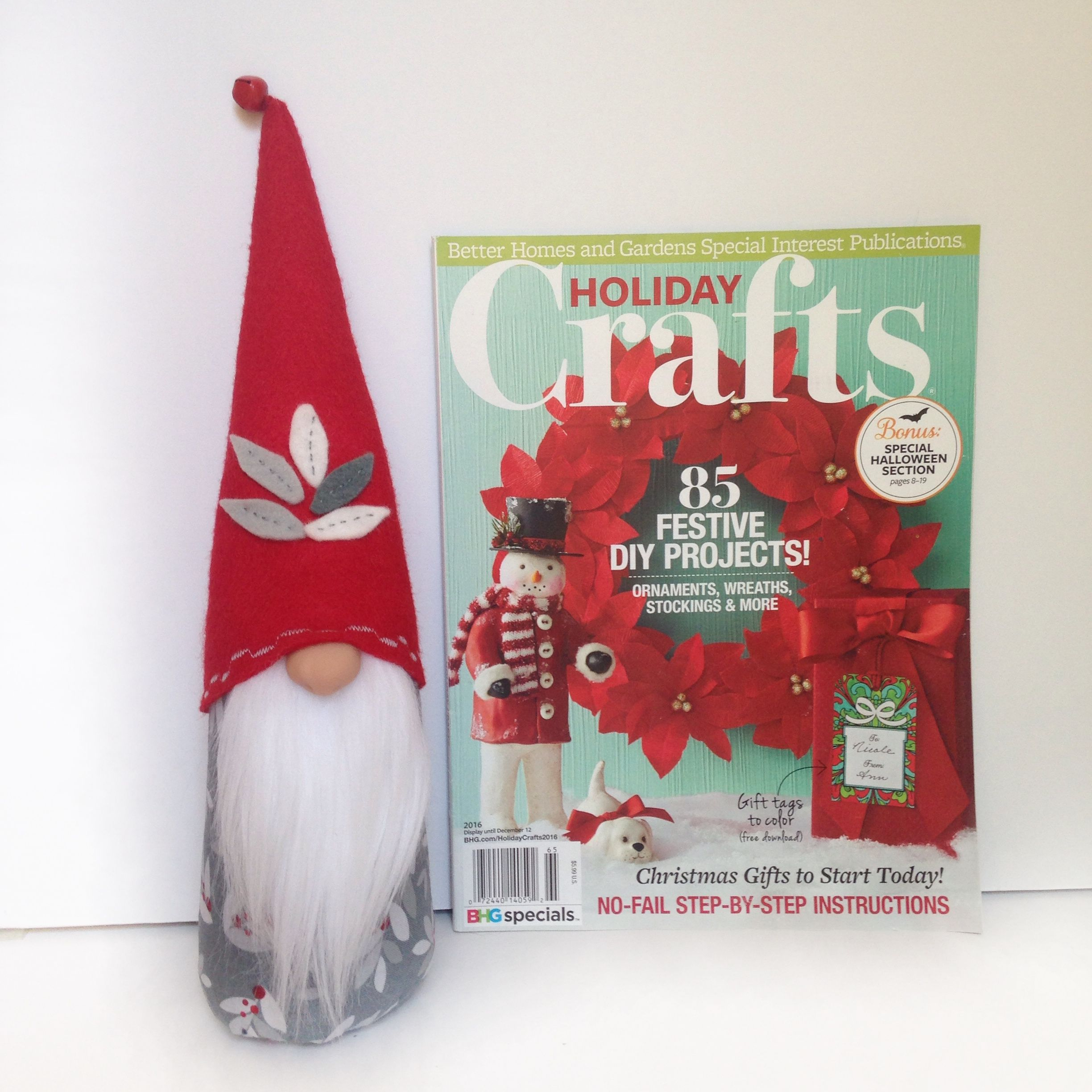 Better Homes And Gardens Craft Ideas Part - 23: Look For My Gnomes In The Upcoming Issue Of Better Homes And Gardens  Holiday Crafts Magazine
