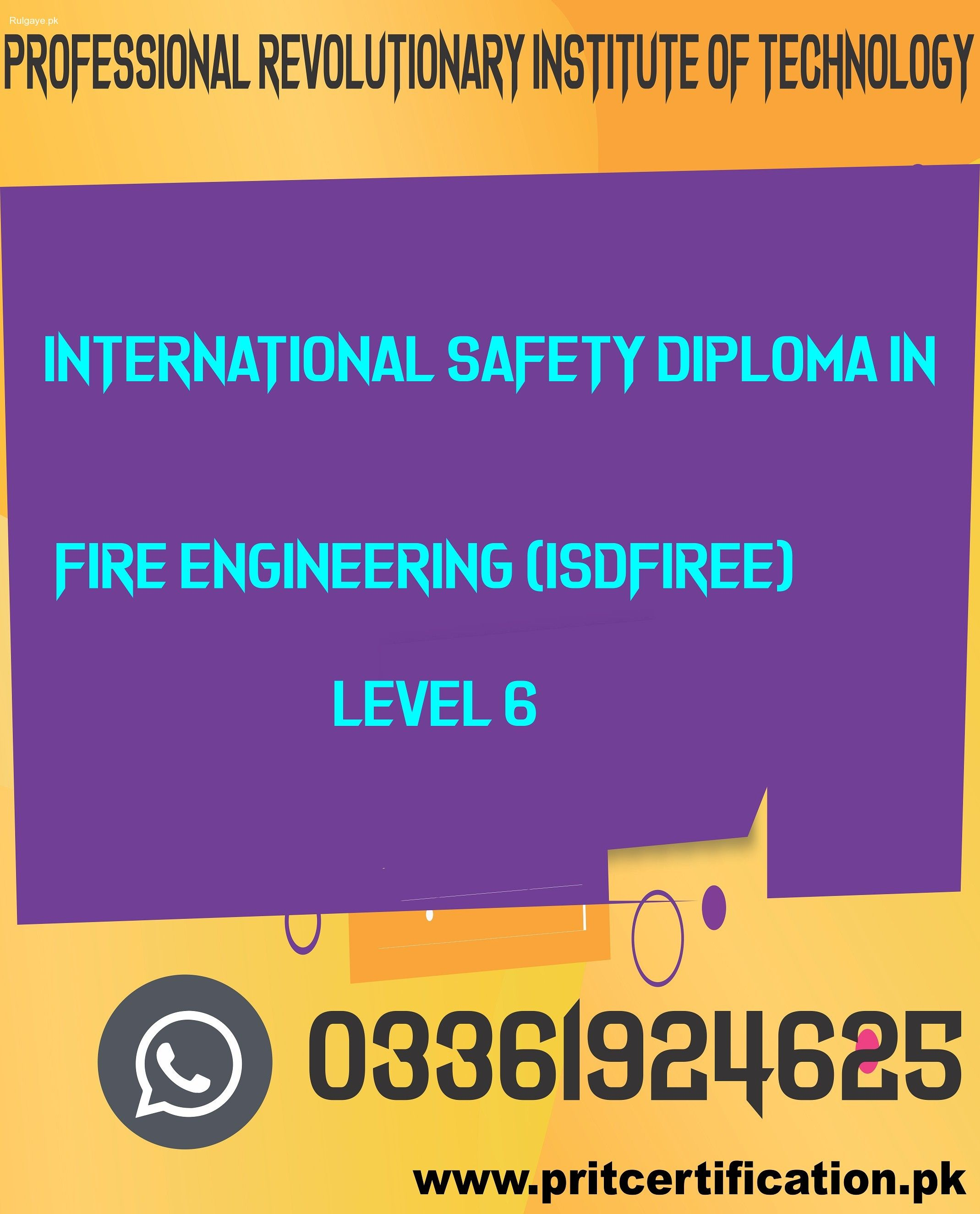 Rulgaye International Safety Diploma In Fire Engineering Occupational Health And Safety Literacy And Numeracy Environmental Engineering