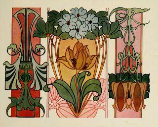 Sandie gobles printable heaven blog beautiful art nouveau designs art nouveau poster solutioingenieria Choice Image