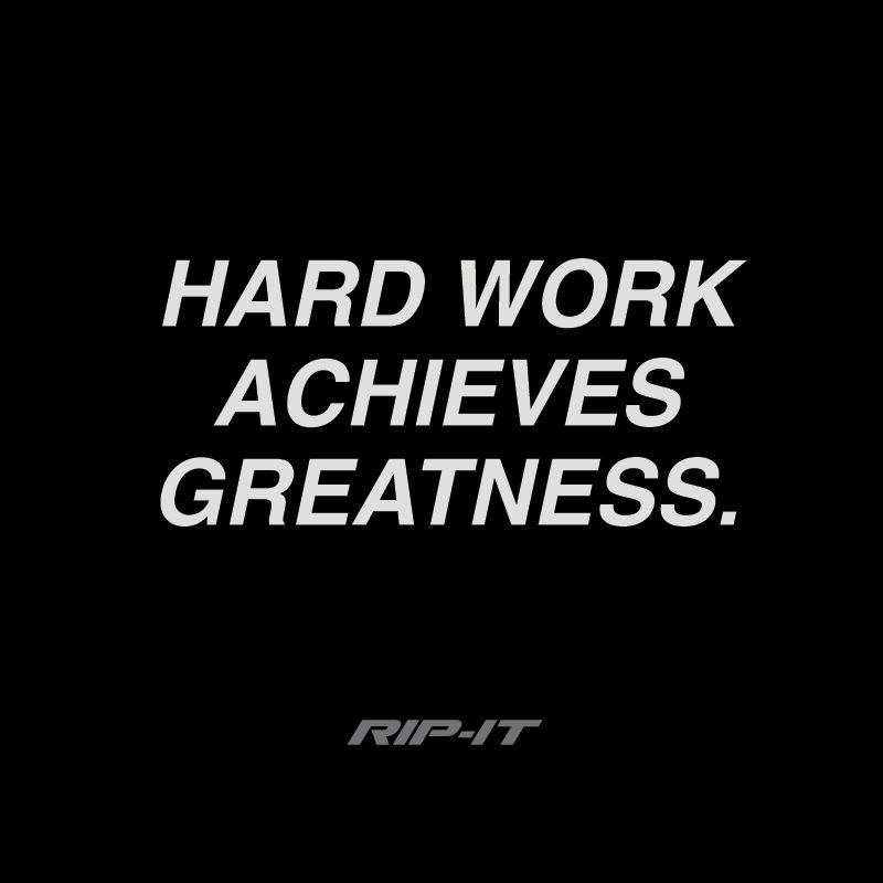 Hard Work Motivation Quotes: Hard Work Achieves Greatness. #Motivation #inspiration