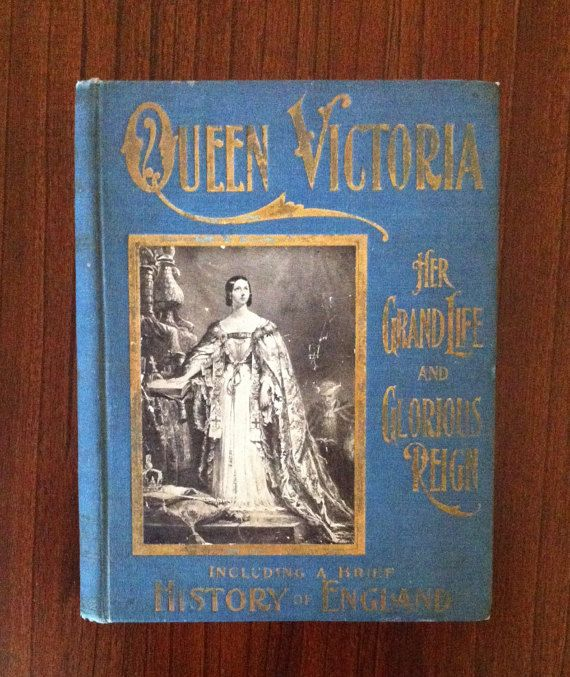 Queen Victoria Antique Books,Queen Victoria The Grand Life
