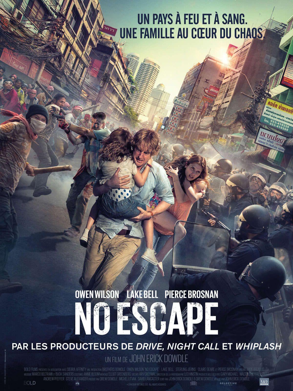 No Escape Une Montee D Adrenaline Qui Seduira Le Grand Public Cinema Et Series Putsch Escape Movie Free Movies Online Full Movies Online Free