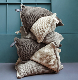 giant wool pillows