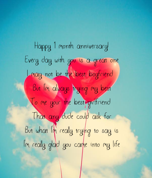 1 Month Anniversary Quotes For My Girlfriend Anniversary Quotes My Girlfriend Quotes Anniversary Quotes For Girlfriend