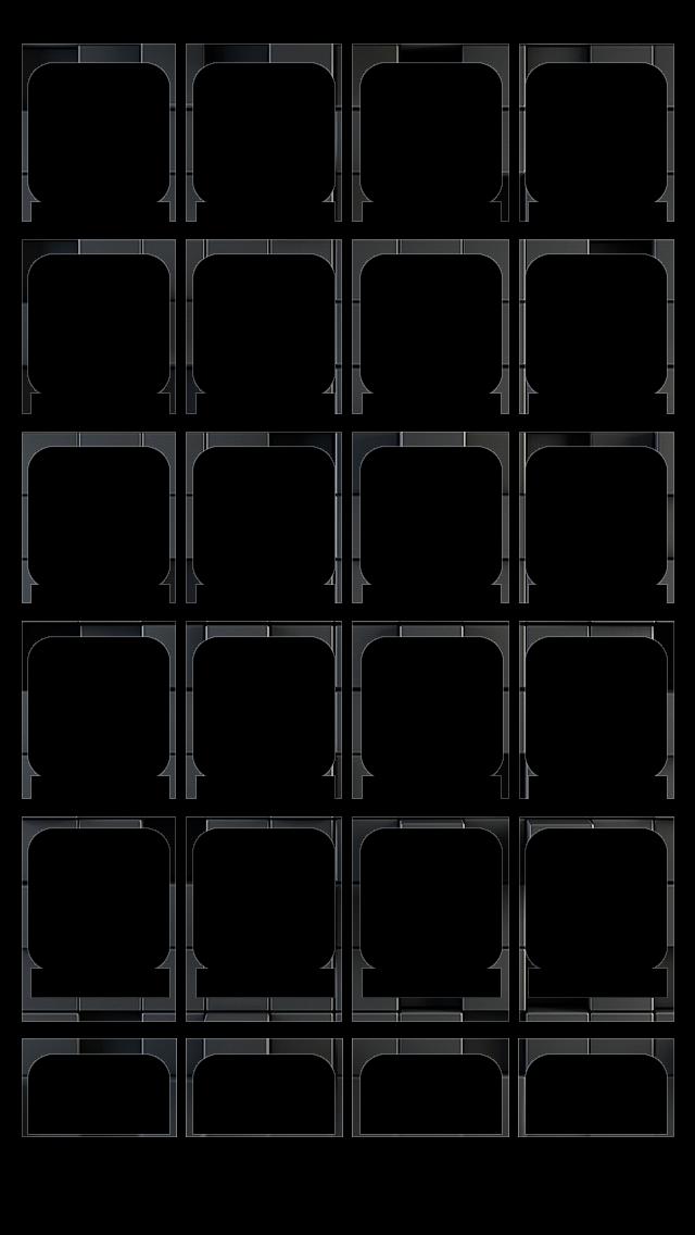 Emboss Shelf Iphone 5 Icon Wallpaper Apple Logo Wallpaper
