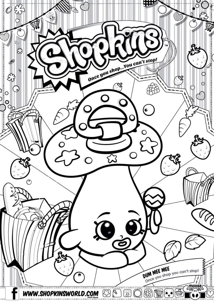 Printable Coloring Pages of Shopkins - Yahoo Image Search Results ...
