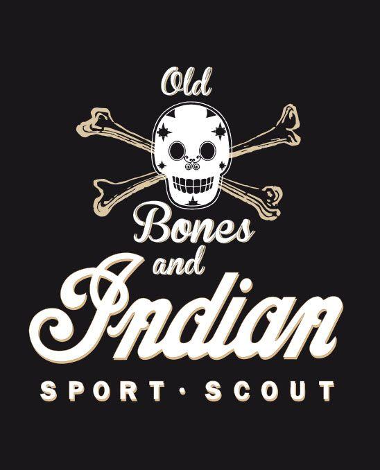 INDIAN Sport Scout / Copyright: Rosner Juergen, Old Bones and Indian / Skull