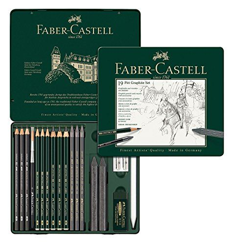 Faber Castell 112972 Blumenzeichnung Faber Castell Faber Castell Pitt