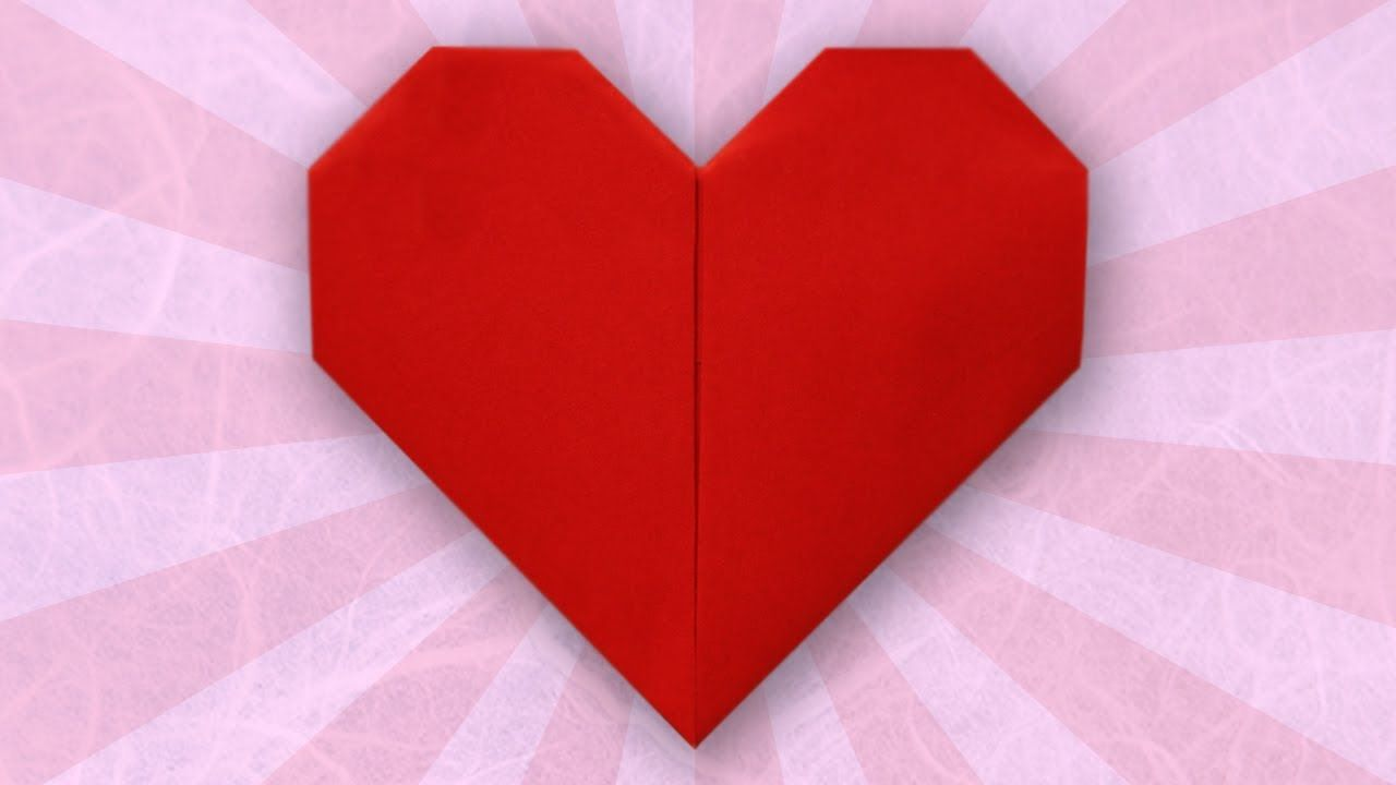 How to fold simple paper craft origami hearts step by step diy how to fold simple paper craft origami hearts step by step diy tutorial instructions how jeuxipadfo Images