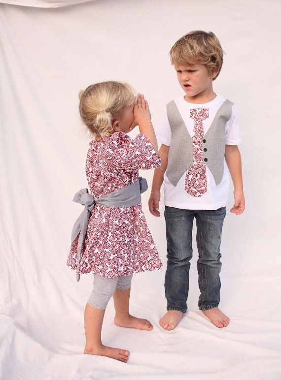 Brother sister Christmas Christmas sibling outfits by haddygrace, $72.50