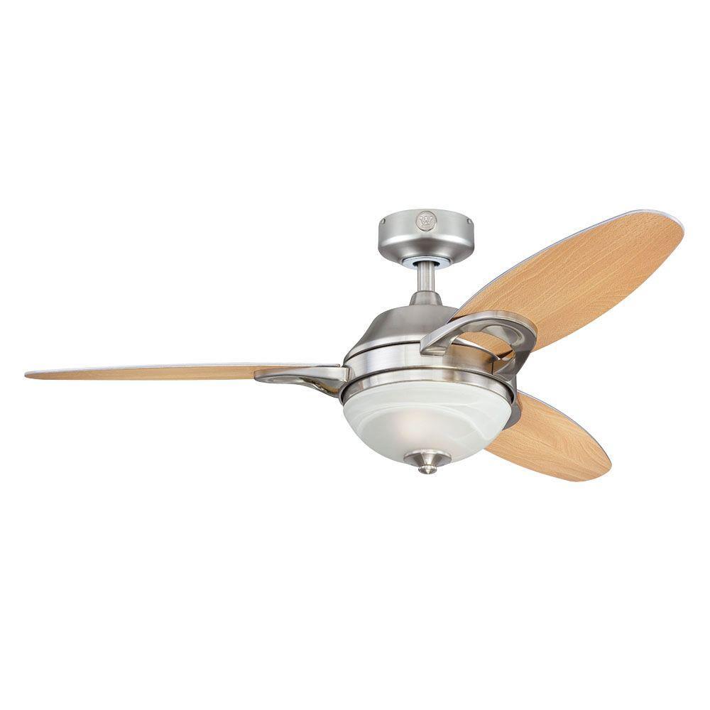 Westinghouse Arcadia 46 In Brushed Nickel Indoor Ceiling Fan