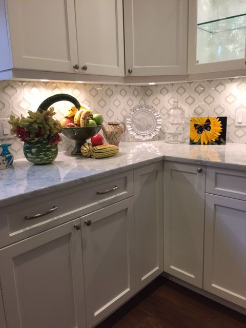 Moroccan Style Glass Tile From Edgewater Kitchen Decor Glass