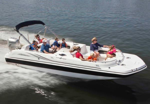 Pelican Marine Center Inc Hurricane Hurricane Deck Boat Deck Boat Boat