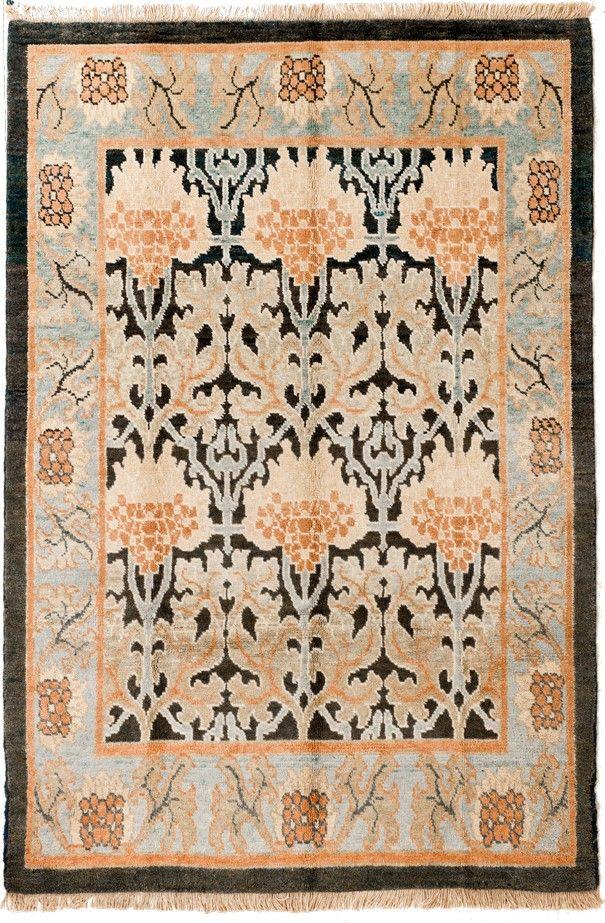Alfombra William Morris Alfombra de origen persa que reproduce