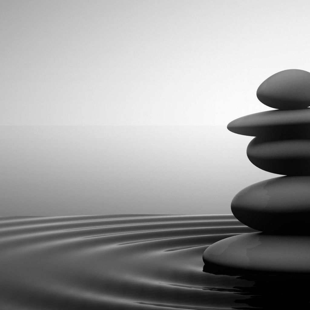 3D Zen Stones Wallpaper | PIC HD | Pinterest | Stone ...