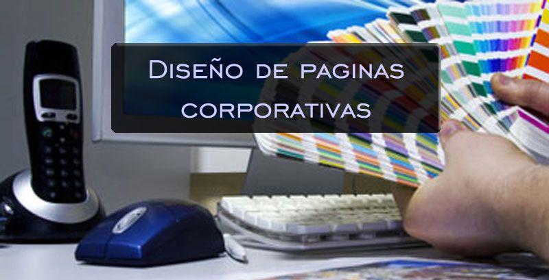 diseño de paginas corporativas