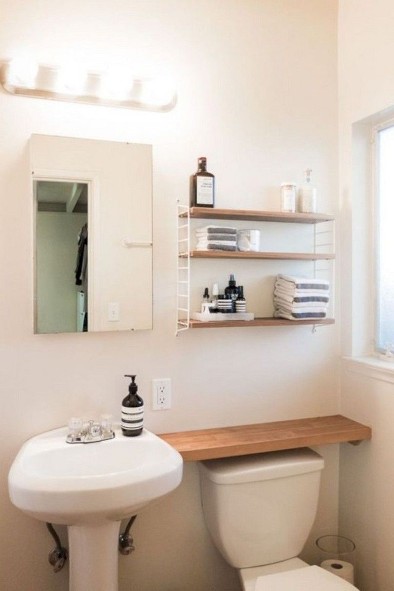 30 Top Small Bathroom Storage Ideas To Save Space Space Saving Bathroom Small Space Bathroom Bathroom Cabinets Designs