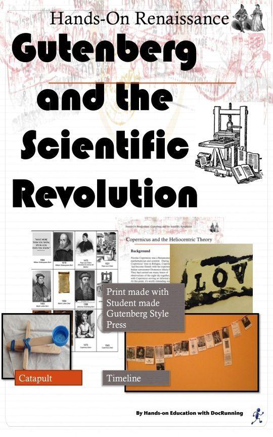 Scientific Revolution Activities plus Printing Press ...