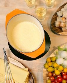 Cheese Fondue Recipe & Video | Martha Stewart#Fondue%20Recipes|/275404/fondue-recipes/@center/276958/holiday-entertaining|348877#Fondue%20Recipes|/275404/fondue-recipes/@center/276958/holiday-entertaining|348877