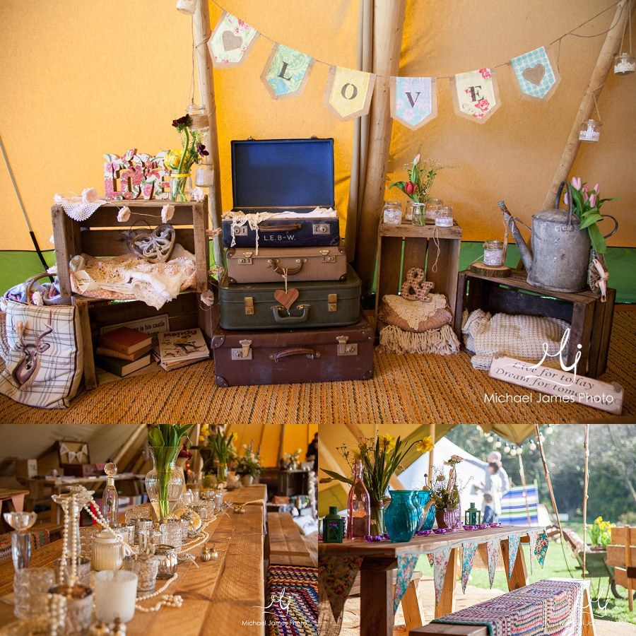 Beautiful LOVE bunting made by Little White Boutique!  Glamping in North Norfolk | The Grove, Cromer | Norfolk Wedding Photographer
