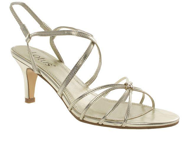 GBP25 Lotus Jewel Strappy Sandals