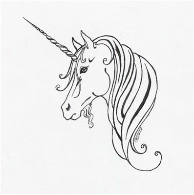 unicorn tattoo design~haawan on deviantart (unicorn of scotland
