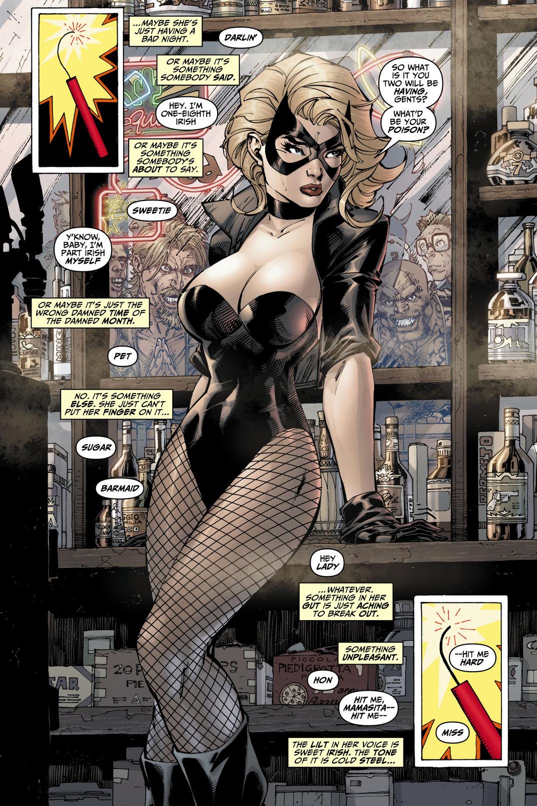 Black Canary, de DC por Jim Lee.