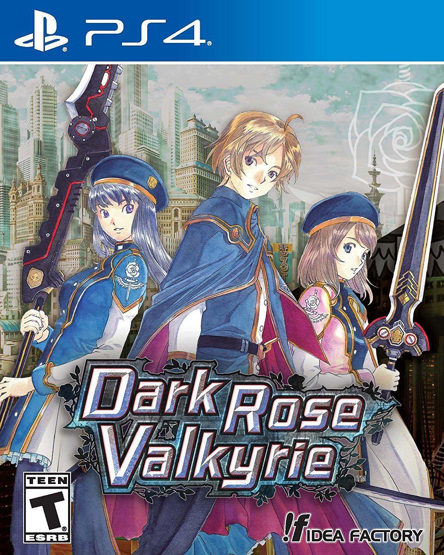 Dark Rose Valkyrie Game Cover Ps4 Valkyrie Playstation Visual
