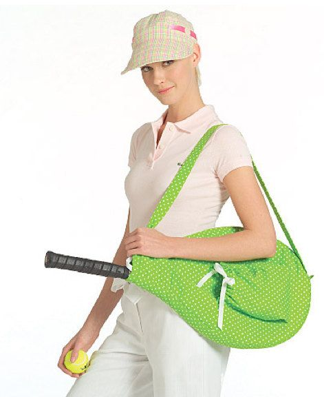GOLF & TENNIS Accessories Sewing Pattern - Racket Cover Club Covers ...