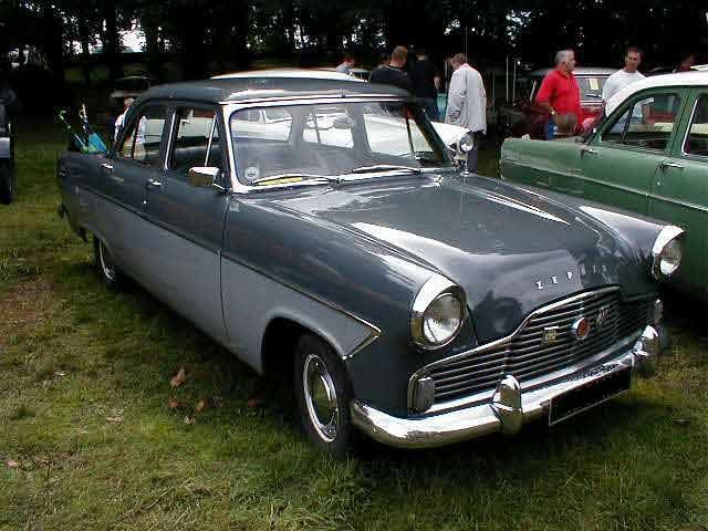 1950s Ford Zephyr Mk2 Photograph At Www Oldclassiccar Co Uk