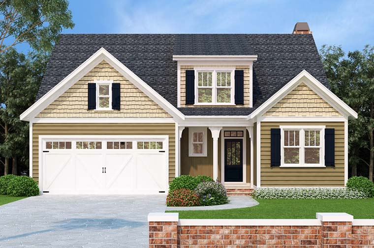 Cottage Style House Plan 83016 With 5 Bed 3 Bath 2 Car Garage In 2020 Cottage Style House Plans House Plans Cottage House Designs