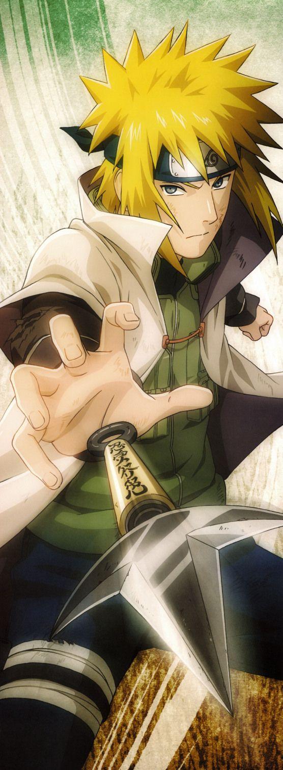 yellowhaired male anime character Naruto Shippuuden