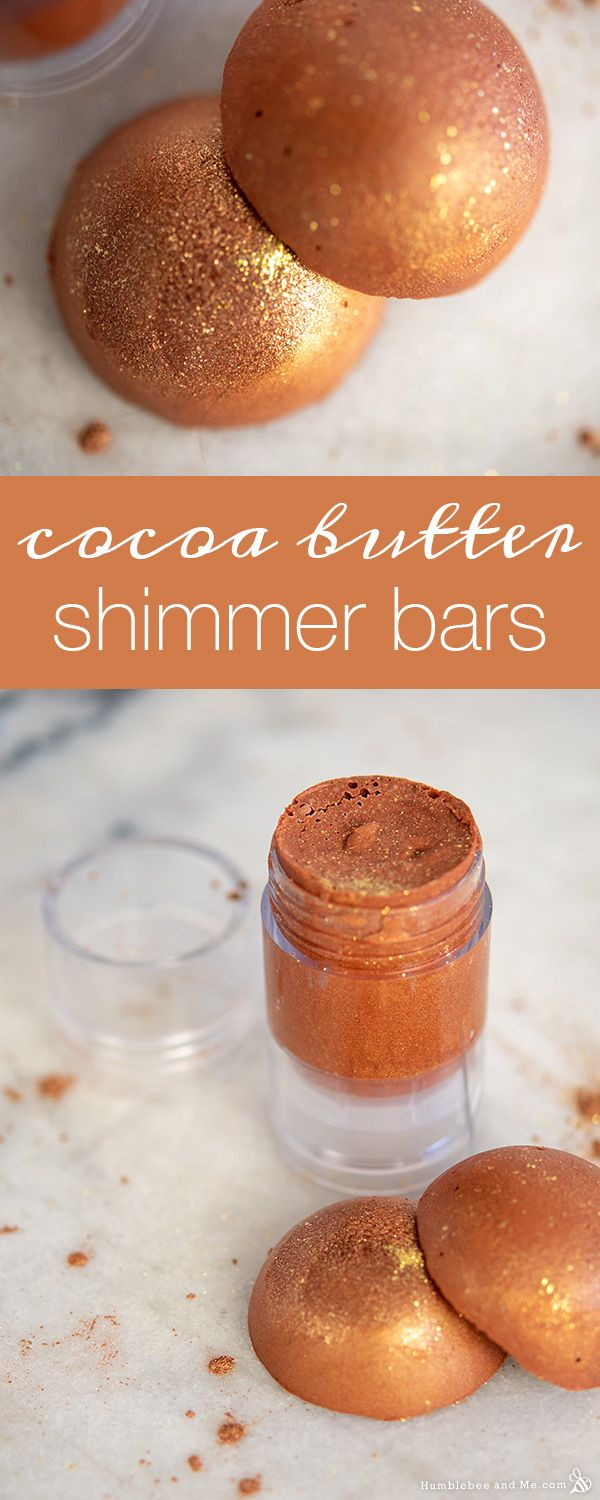 Cocoa Butter Shimmer Bars – Humblebee & Me