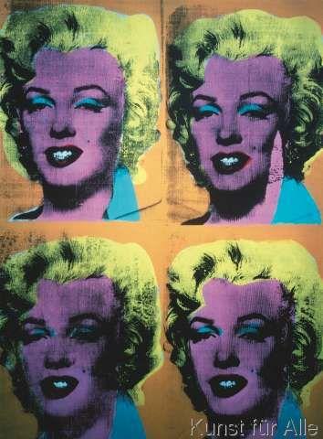 Andy Warhol - Four Marilyns, c.1962