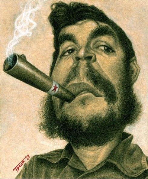 Gagnant de la session de caricature de Che Guevara : Walter Toscano