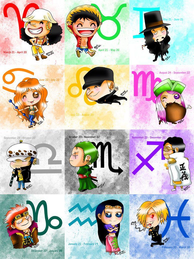 One Piece Zodiac
